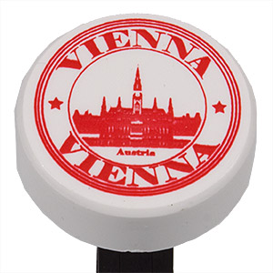 PEZ - Miscellaneous - I ♥ Austria - Puck Vienna City Hall