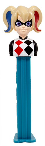 PEZ - Super Hero Girls - Harley Quinn - with play code