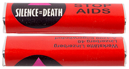 PEZ - Individual Packs - Stop Aids - Silence=Death