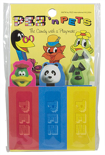 PEZ - Miscellaneous (Non-Dispenser) - Bookmarks with heads - PEZ'n'pets