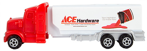 PEZ - Advertising ACE Hardware - Truck - White cab - paint can 2017