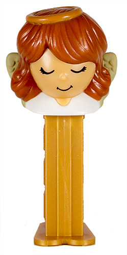 PEZ - Mini PEZ - Angel - Brown hair, Ornaments ball - C