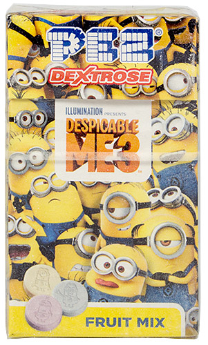 PEZ - Dextrose Packs - Despicable Me 3