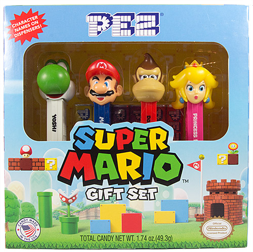 PEZ - Animated Movies and Series - Nintendo - Super Mario Gift Set