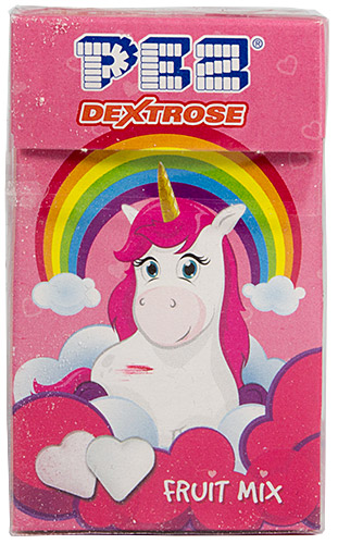 PEZ - Dextrose Packs - Rainbow Unicorn