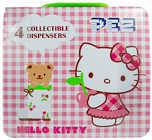 PEZ - Hello Kitty - Crystal Collection - Tin set - G2b