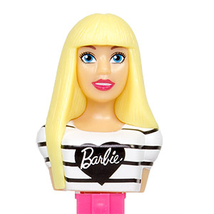 PEZ - Barbie - Serie 2 - Barbie with t-shirt