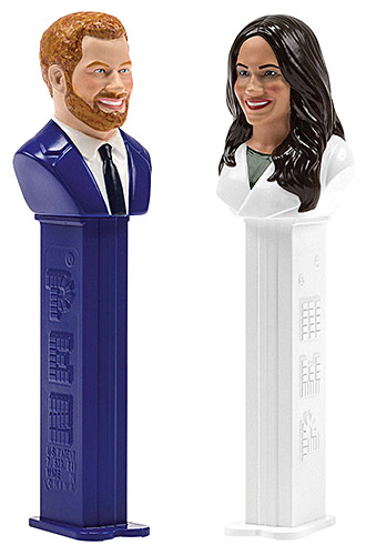 PEZ - Famous People - Royal Couple - Harry