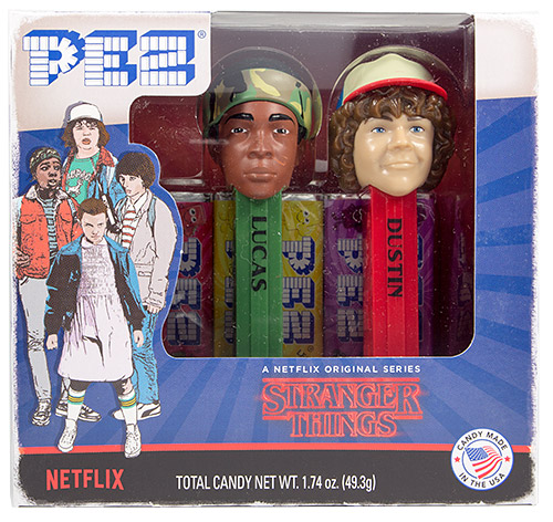 PEZ - Stranger Things - Stranger Things Twin Pack Lucas and Dustin