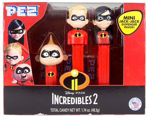 PEZ - Incredibles, The - Incredibles 2 - Incredibles 2 Triple Pack