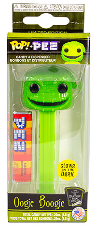 PEZ - Nightmare before Christmas - Oogie Boogie - GITD Face