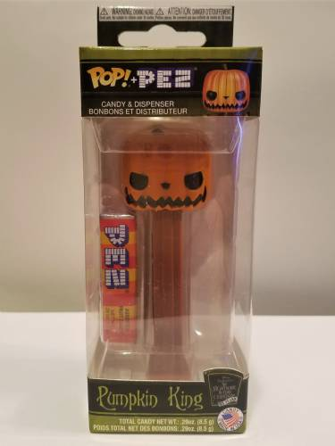 PEZ - Funko POP! - Nightmare before Christmas - Pumpkin King