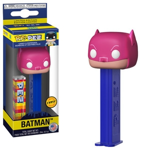PEZ - Funko POP! - DC Comics - Batman (Chase) - Pink Mask