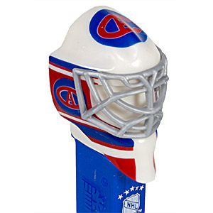 PEZ - Sports Promos - NHL - Team Masks - Montreal Canadiens