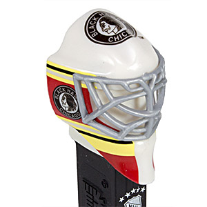 PEZ - Sports Promos - NHL - Team Masks - Chicago Black Hawks