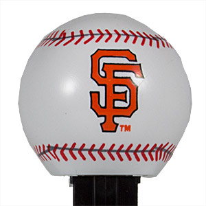 PEZ - Sports Promos - MLB Balls - Ball - San Francisco Giants - C