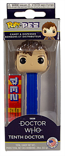 PEZ - Funko POP! - Doctor Who - 10th Doctor - Brown Hair, Eyebrows