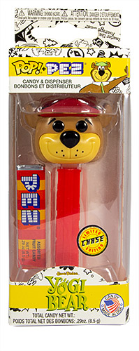 PEZ - Funko POP! - Hanna Barbera - Yogi Bear (Chase) - Red Hat