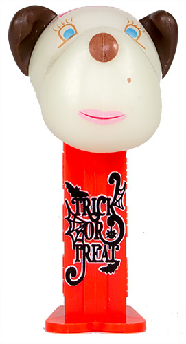 PEZ - AWL / SOS - Halloween 2018 - Barkina - White GITD Head