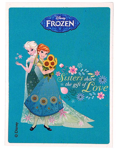 PEZ - Frozen - Elsa & Anna - Sisters share the gift of Love