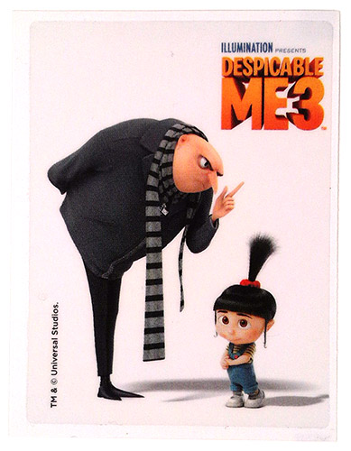PEZ - Stickers - Despicable Me 3 - Gru & Agnes