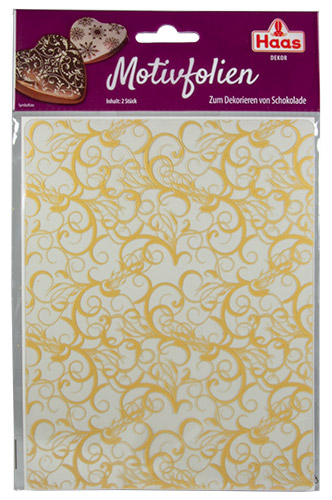 PEZ - Haas Food Products - Decor - Motivfolien - Gold