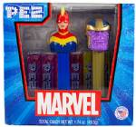 PEZ - Twin Pack Captain Marvel & Thanos  US Release