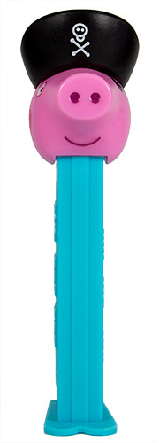 PEZ - Animated Movies and Series - Peppa Pig - George Pirate