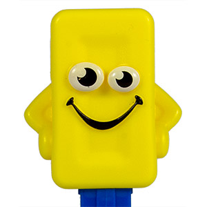 PEZ - Miscellaneous - PEZ Candy Mascot - yellow