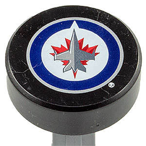 PEZ - Sports Promos - NHL - Pucks - Winniepeg Jets