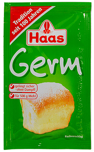 PEZ - Haas Food Products - Baking - Germ - 7g - Buchtl