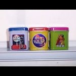 PEZ Sticker Cans