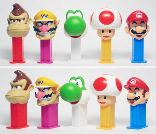 PEZ - Mini PEZ - Mario Party #23 - Yoshi
