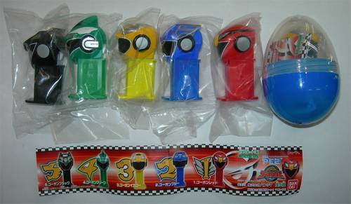 PEZ - Mini PEZ - Go-Onger #45 - Go-On Red